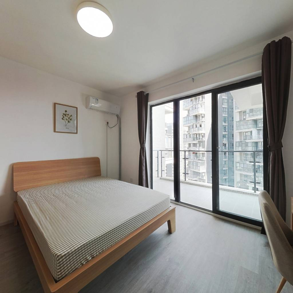 合租·红树湾 4室1厅 南卧室图