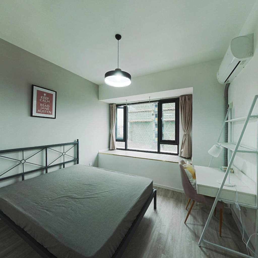 合租·央湖名邸二期 3室1厅 南卧室图