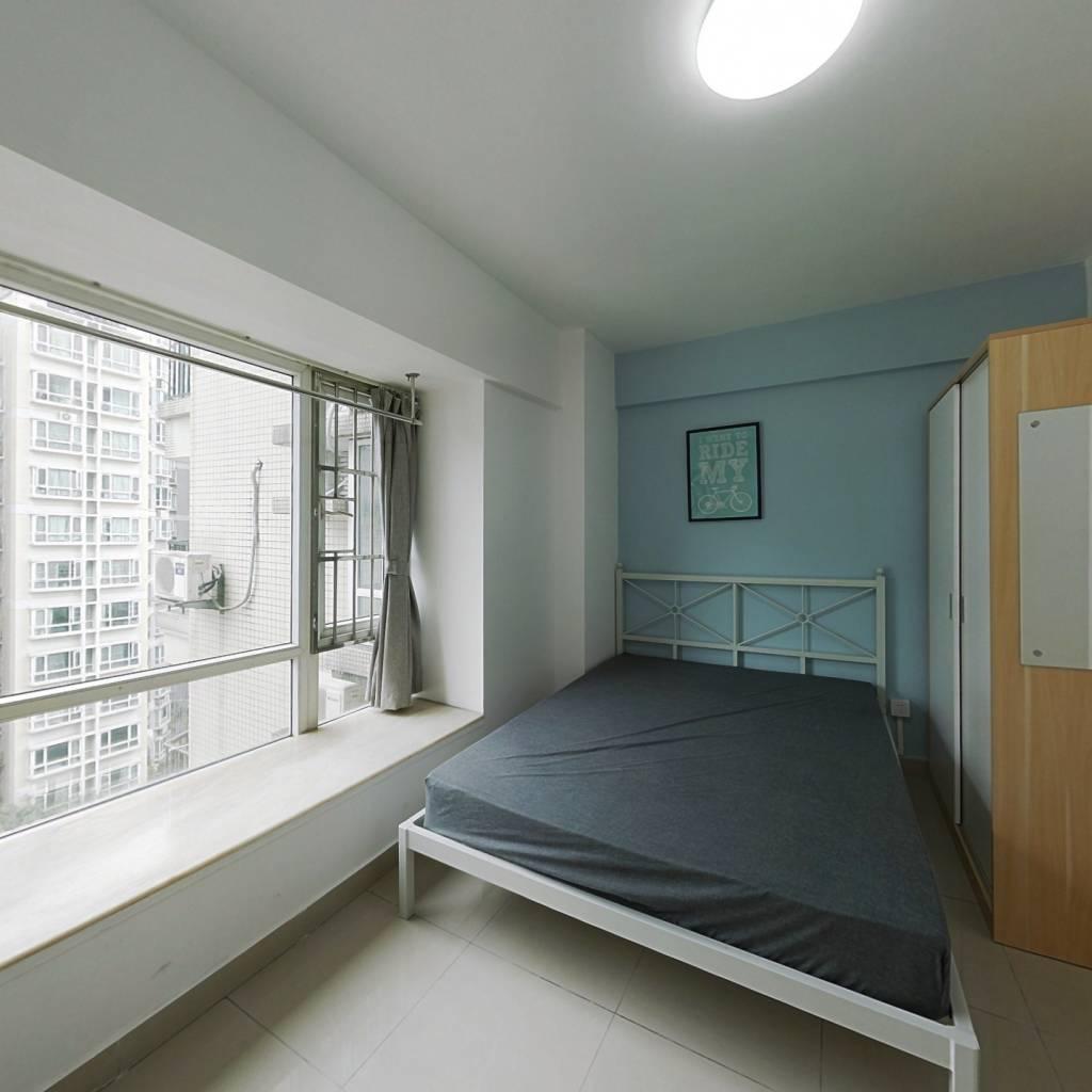 合租·又一居花园 3室1厅 西卧室图
