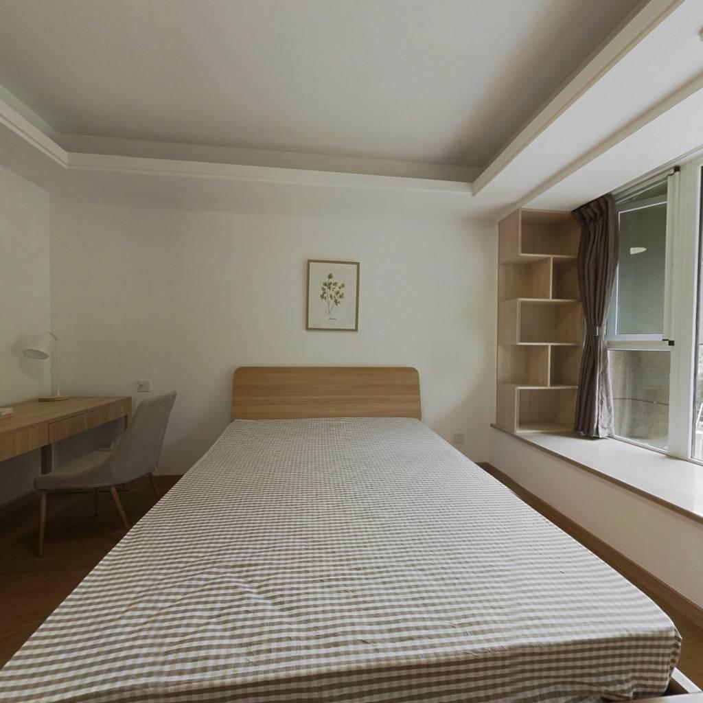 合租·阳光城翡丽湾 4室1厅 南卧室图