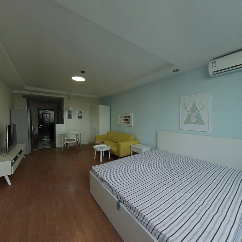 整租·巨福公寓 1室1厅 东北卧室图
