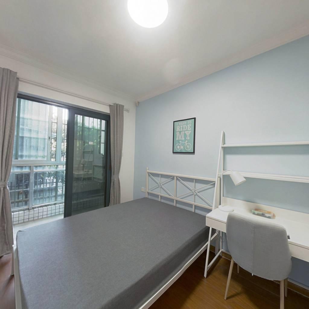合租·金碧花园第三金碧 2室2厅 南卧室图