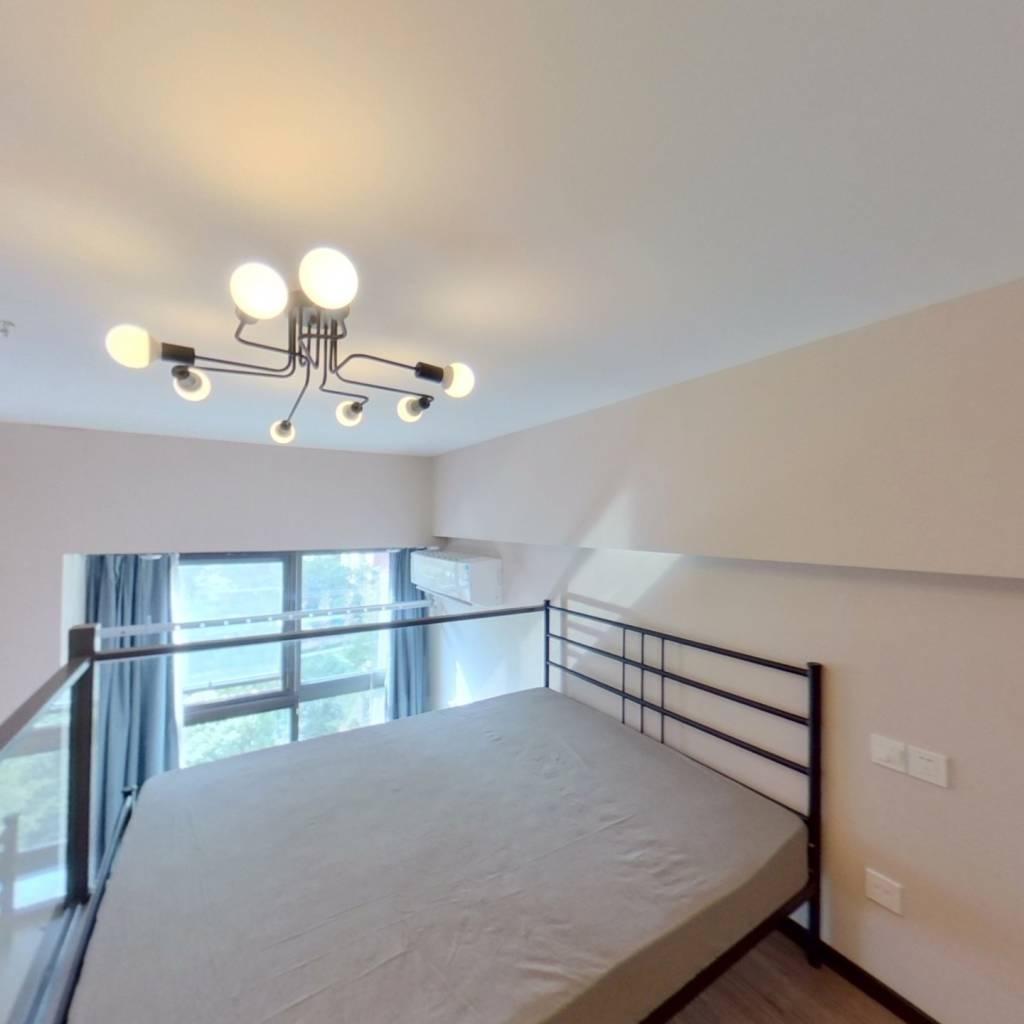 整租·绿地云天坊 1室1厅 西卧室图