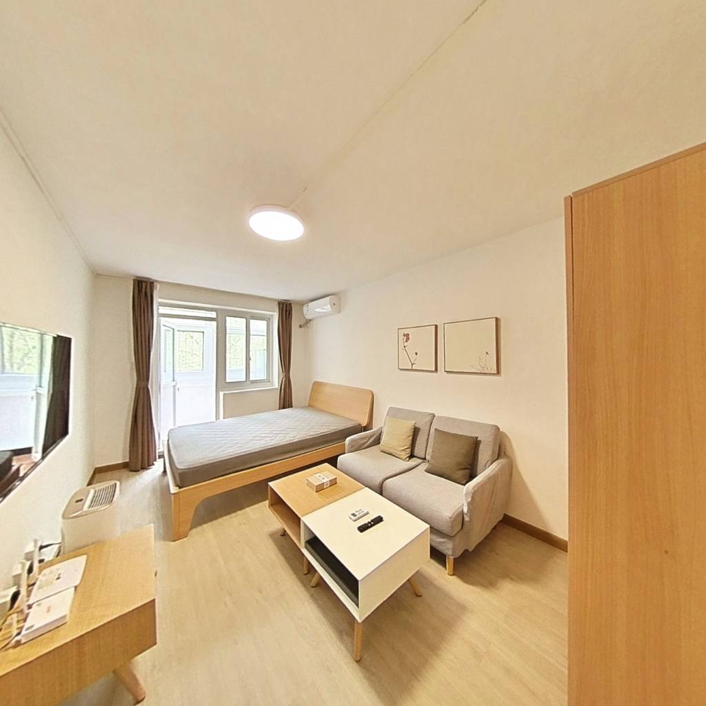 整租·怀庆里 1室1厅 东南卧室图
