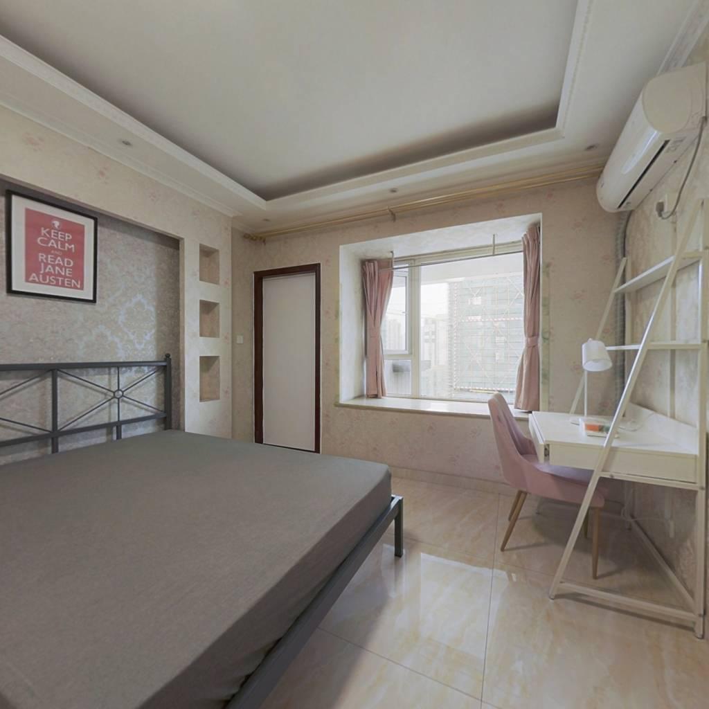 合租·蓝光富丽花城 4室1厅 西卧室图