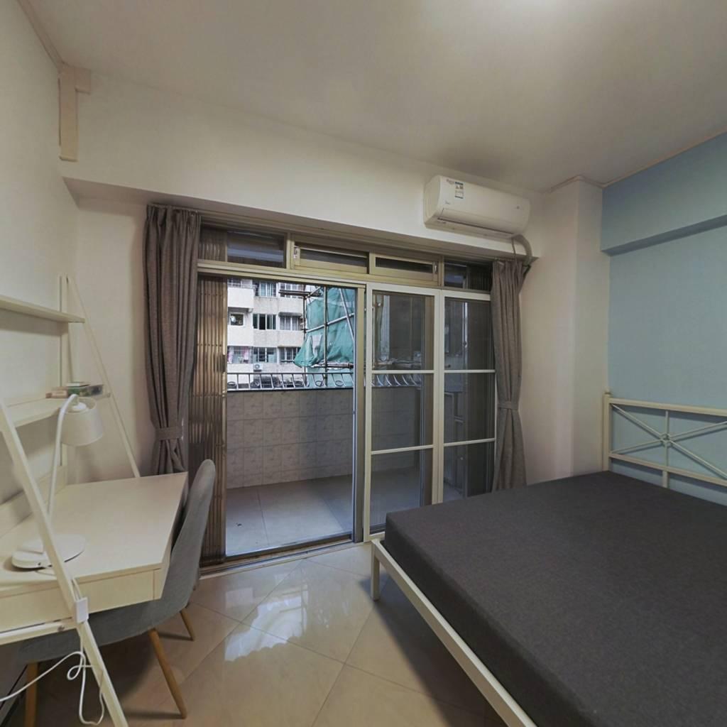 合租·南园居 3室1厅 北卧室图