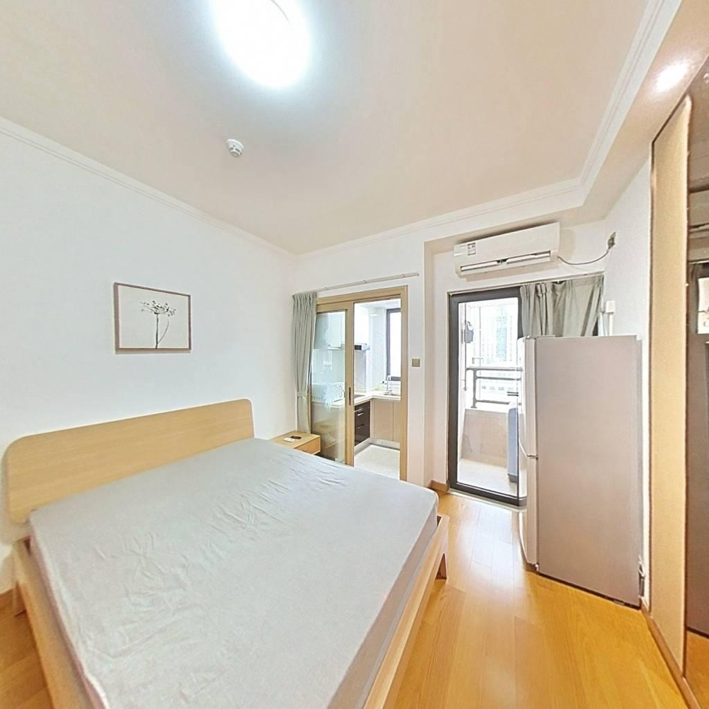 整租·名居广场 1室1厅 东南卧室图