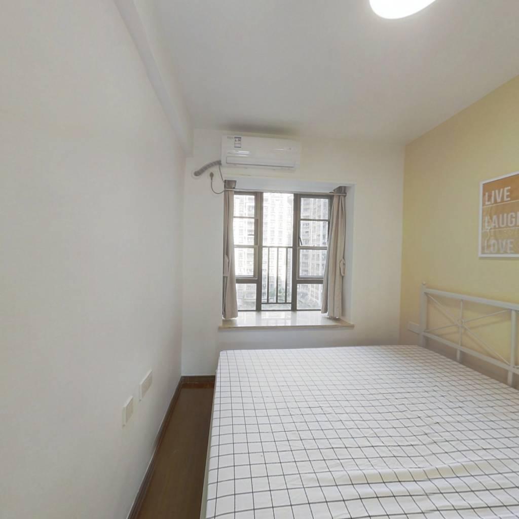 合租·天河御品 4室2厅 北卧室图