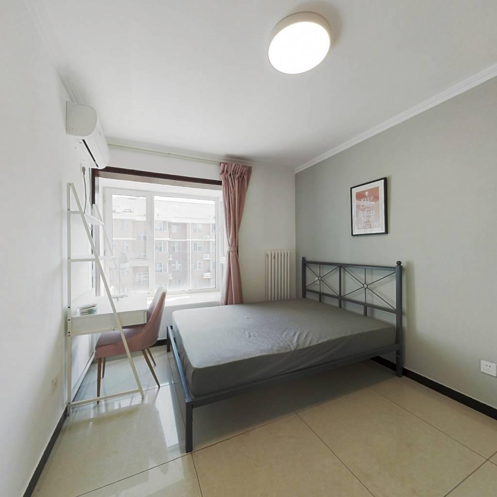 合租·门头馨园 3室1厅 北卧室图