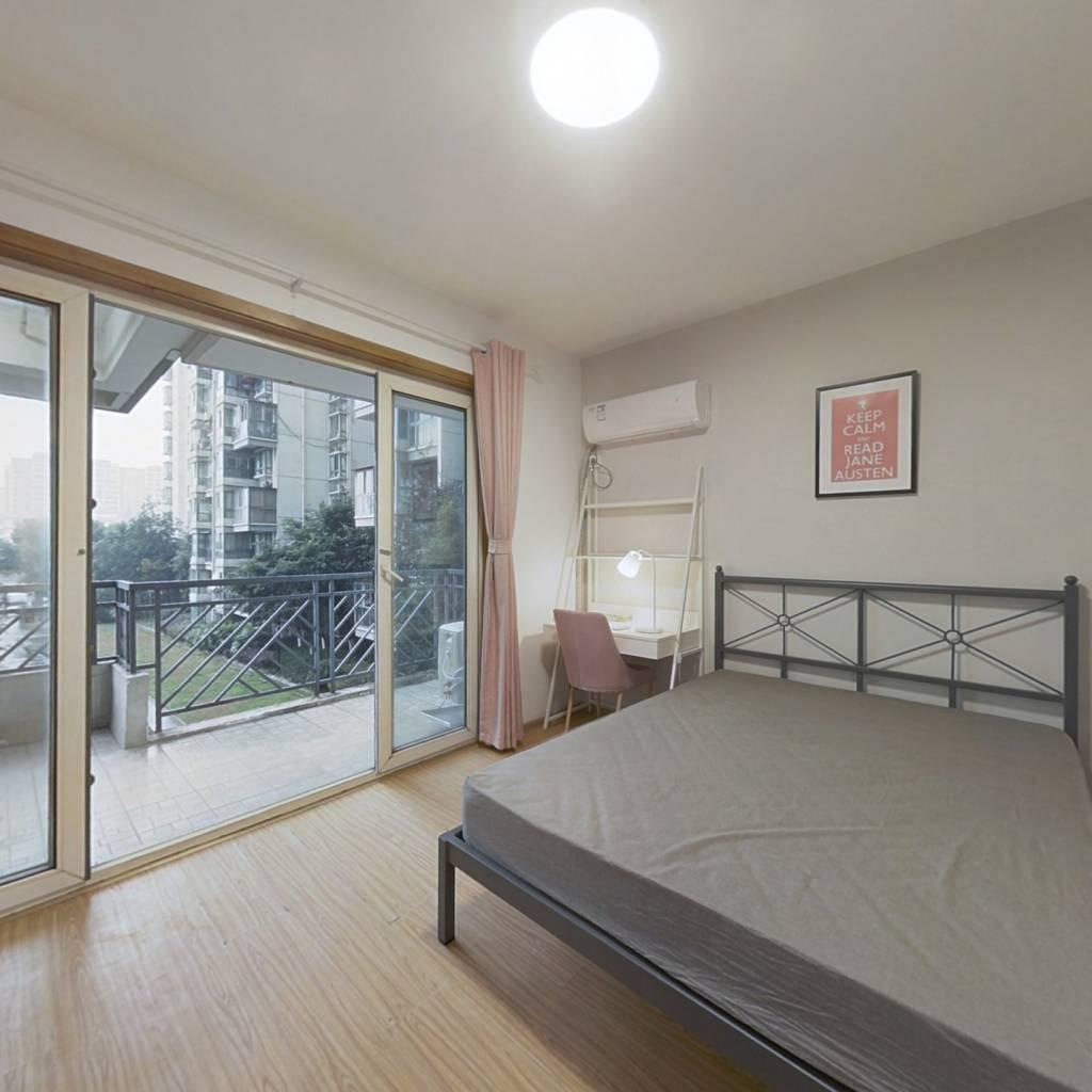 合租·富丽锦城 3室1厅 北卧室图