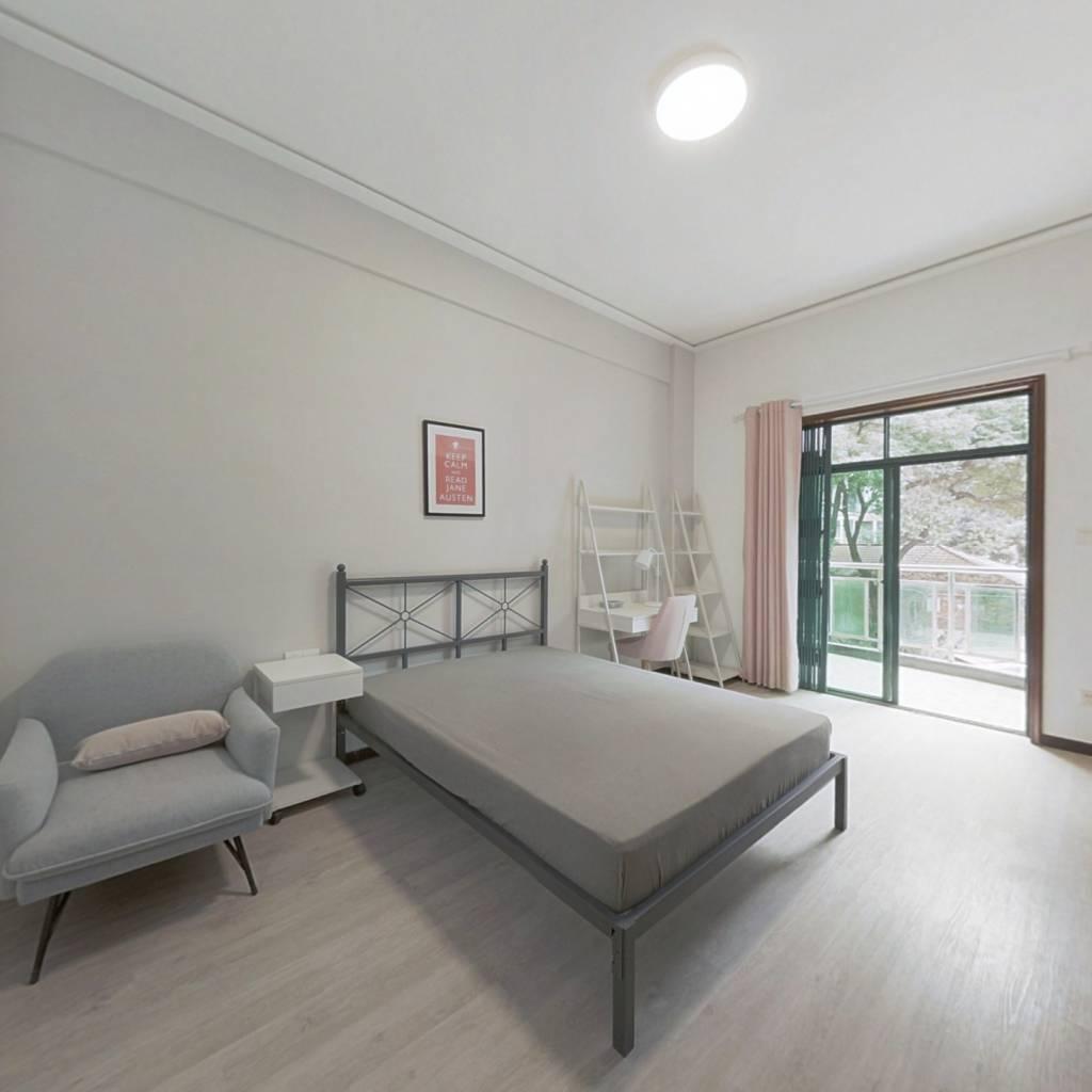 合租·汉口城市之光 4室1厅 南卧室图