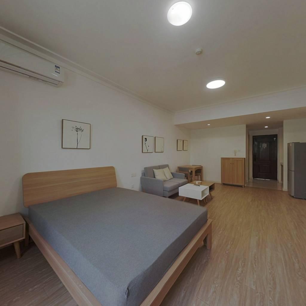 整租·复地新都荟 1室1厅 北卧室图