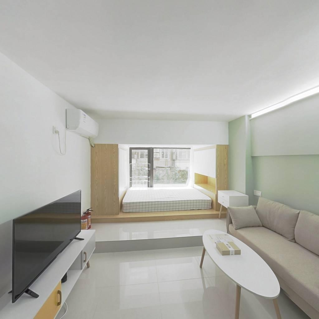 整租·MR.91公馆 1室1厅 东南卧室图
