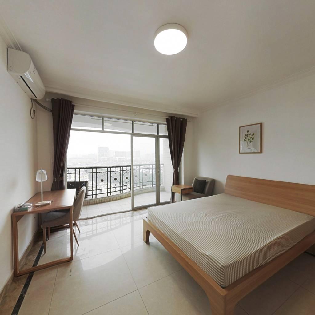 合租·合生颐景华苑 4室1厅 南卧室图
