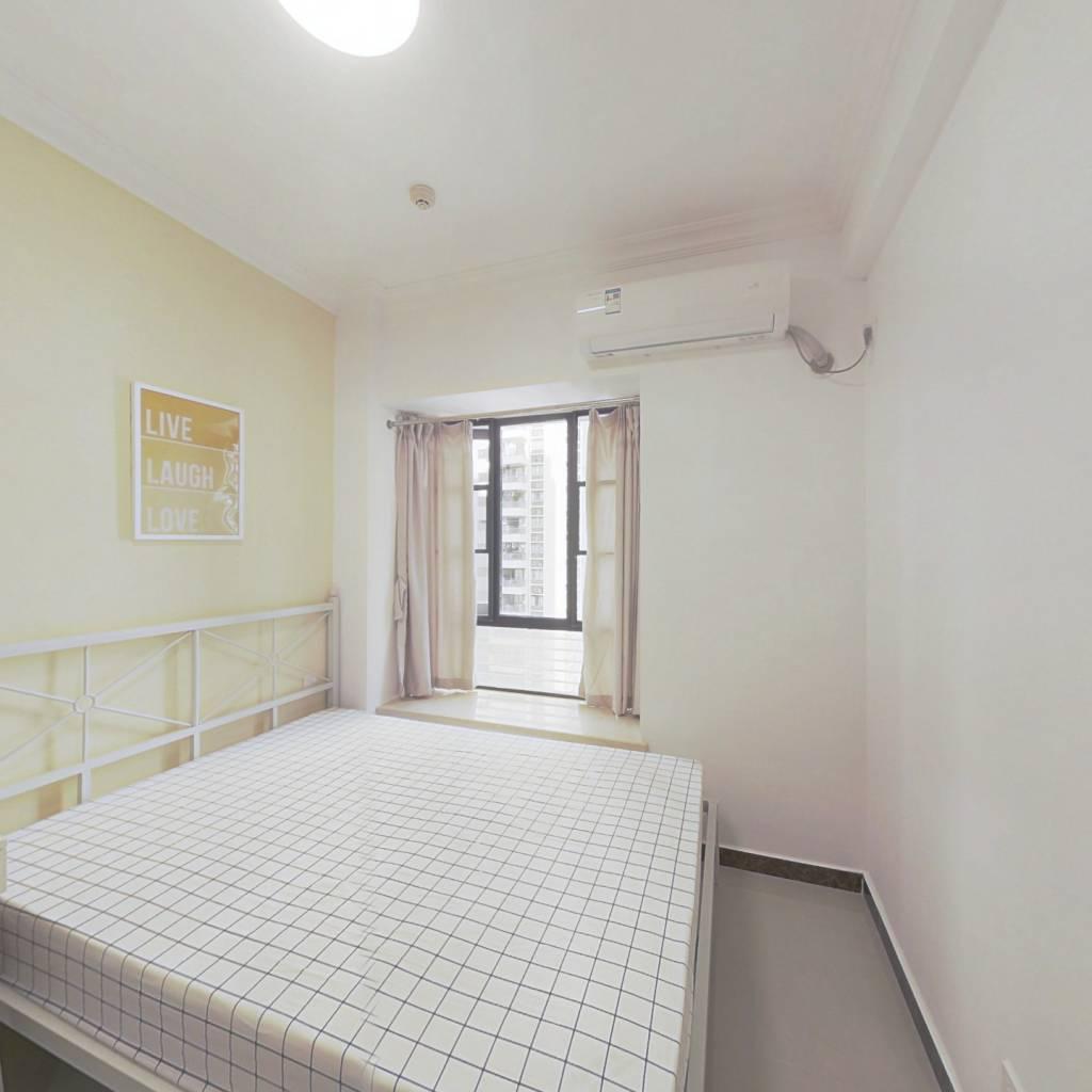 合租·富力东山新天地 3室1厅 东卧室图
