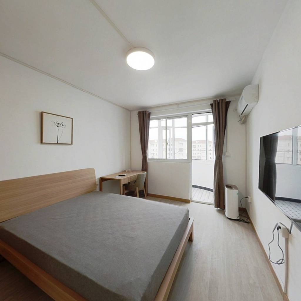 整租·平保小区 1室1厅 南卧室图