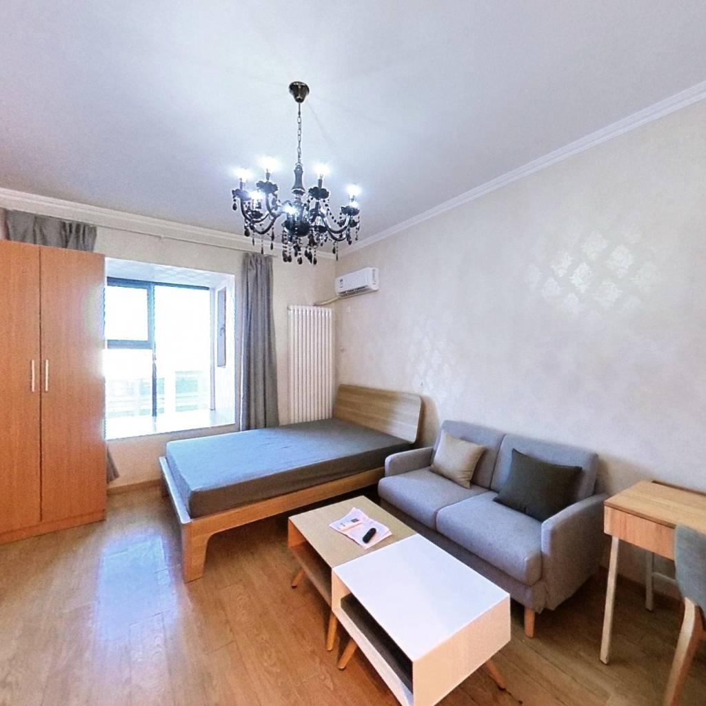 整租·东亚创展国际 1室1厅 北卧室图