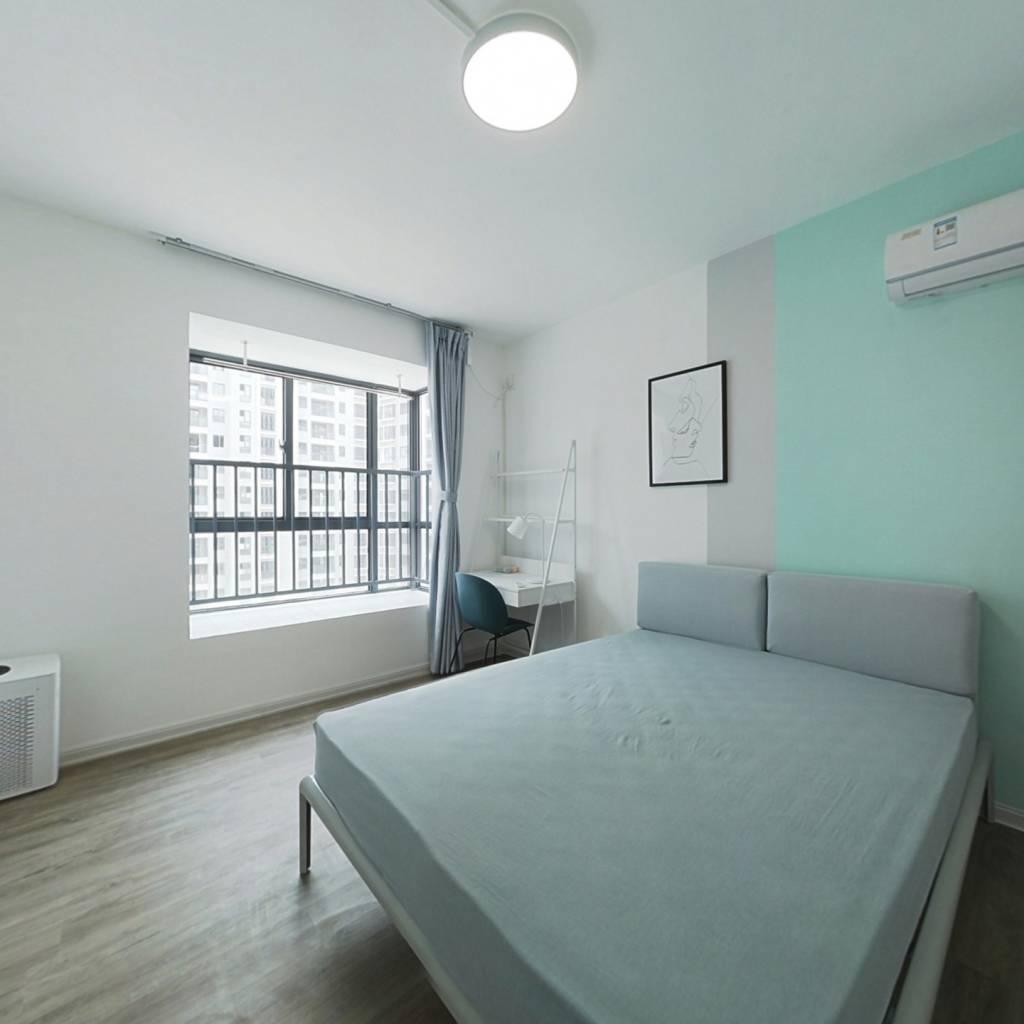 合租·钱江一苑 3室1厅 南卧室图