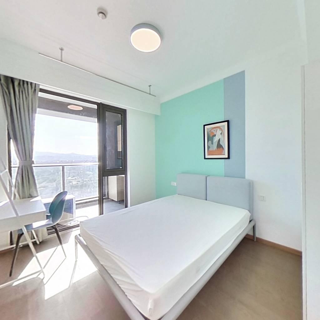 合租·东原印未来 5室1厅 北卧室图