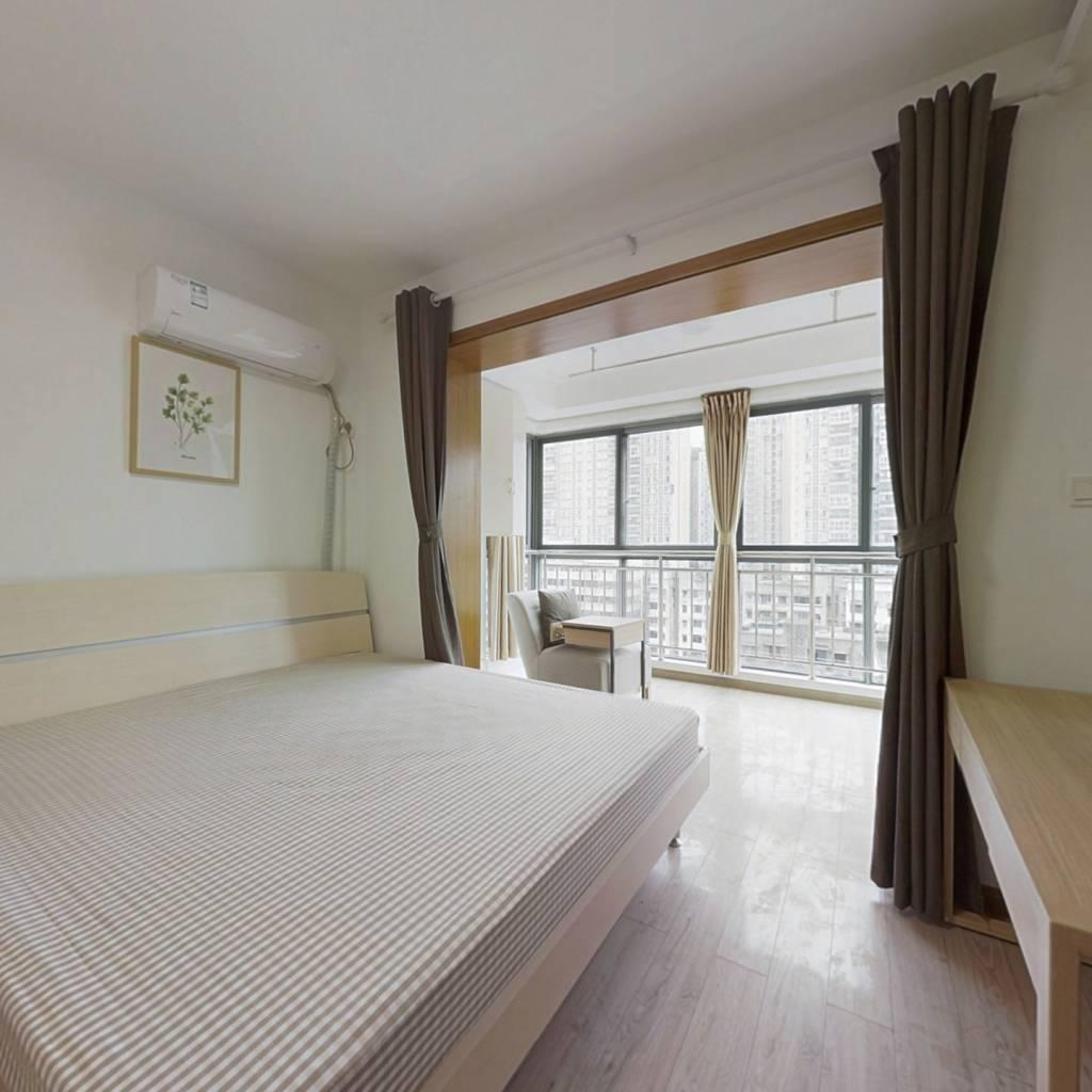 合租·锦天国际 3室1厅 北卧室图