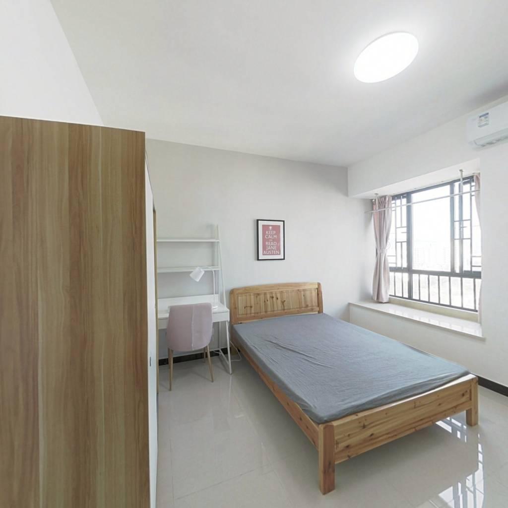 合租·小新塘大未来 4室1厅 北卧室图