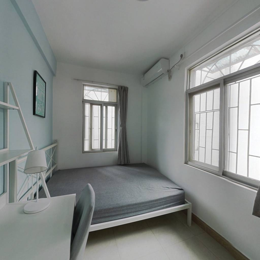 合租·建设六马路青菜岗 3室1厅 南卧室图
