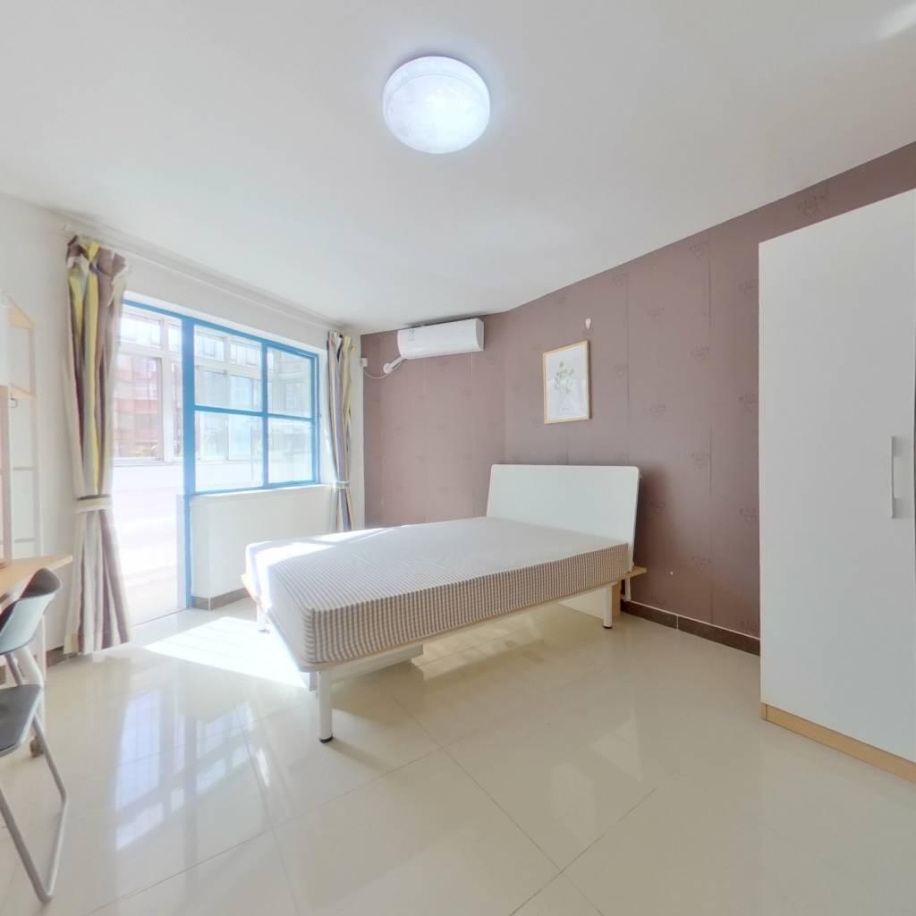 合租·甘露园南里 3室1厅 西南卧室图