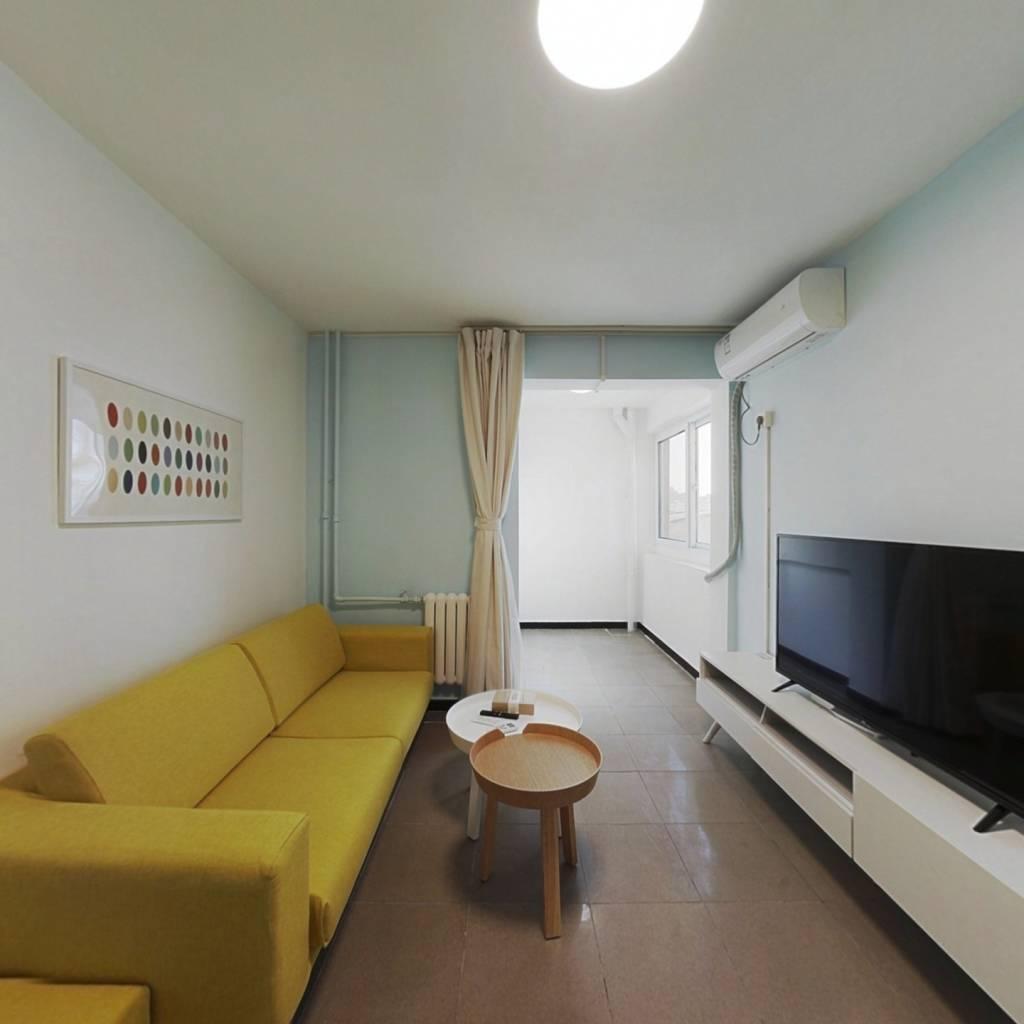 整租·太平桥东里 1室1厅 南卧室图