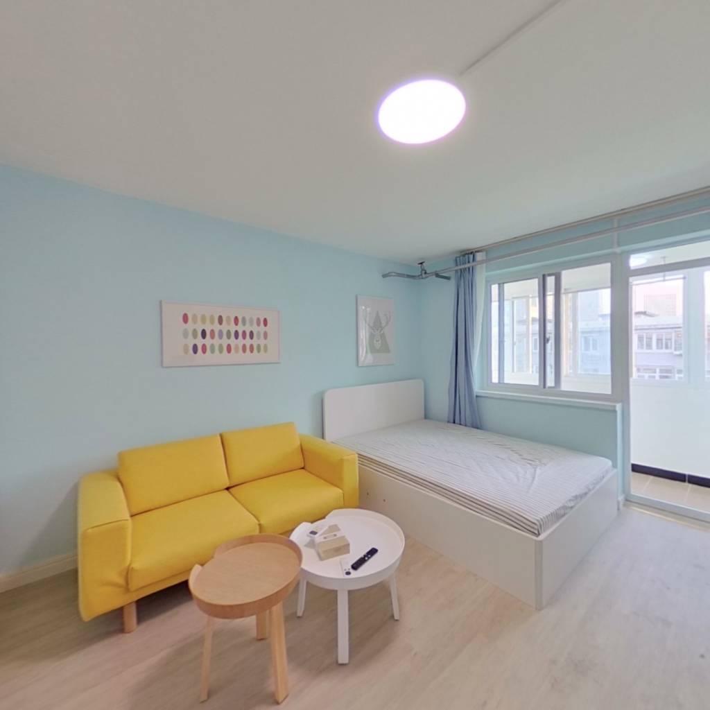 整租·小南庄社区 1室1厅 南卧室图