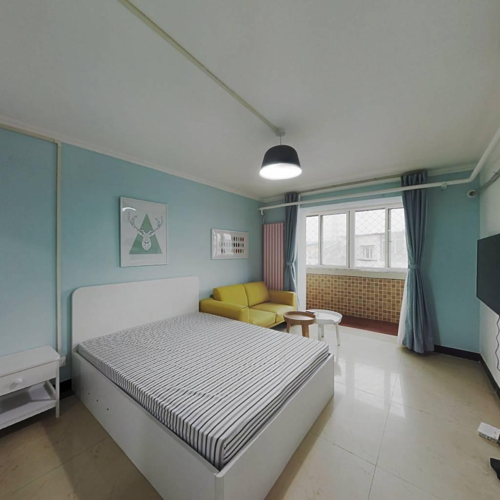 整租·平乐园小区 1室1厅 南卧室图