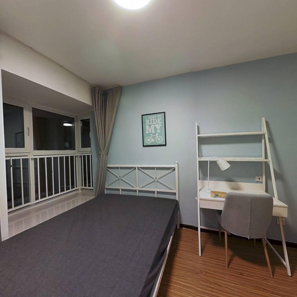 合租·保利金融街诺丁山 3室1厅 南卧室图
