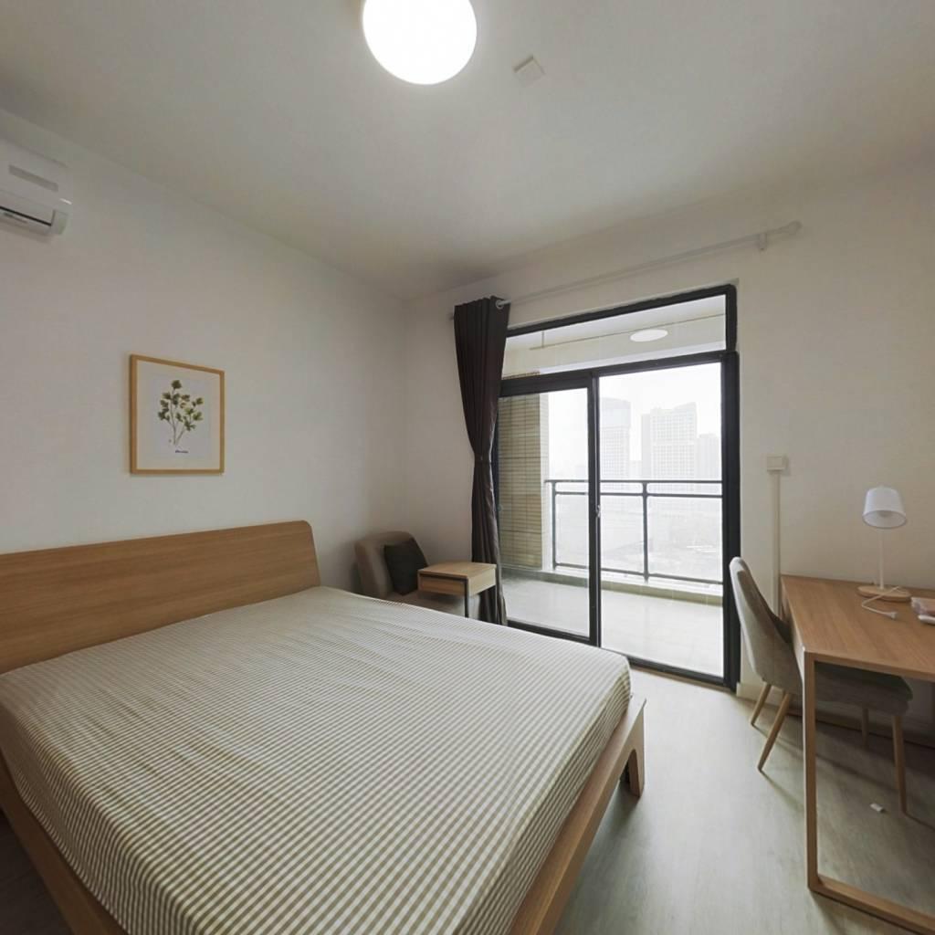 合租·富强天合园 3室1厅 南卧室图