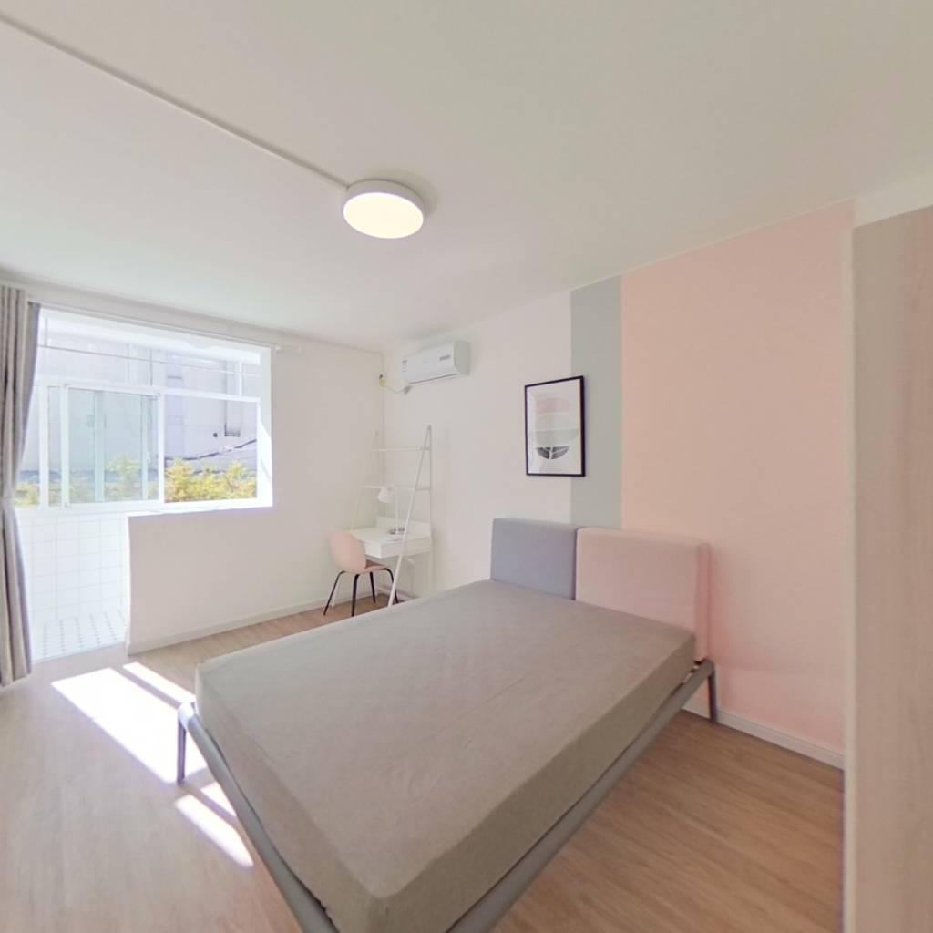 合租·清真路1615弄 3室1厅 南卧室图