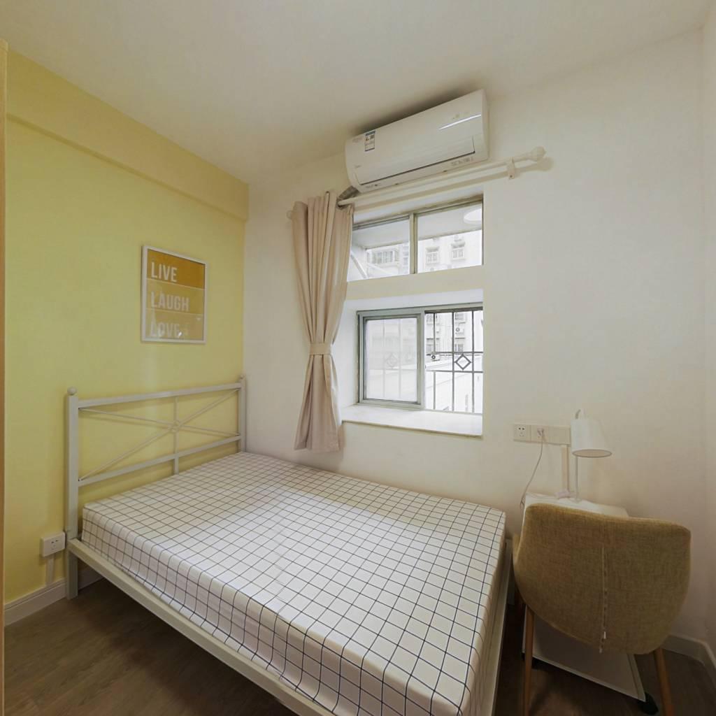 合租·穗园小区 4室1厅 东北卧室图