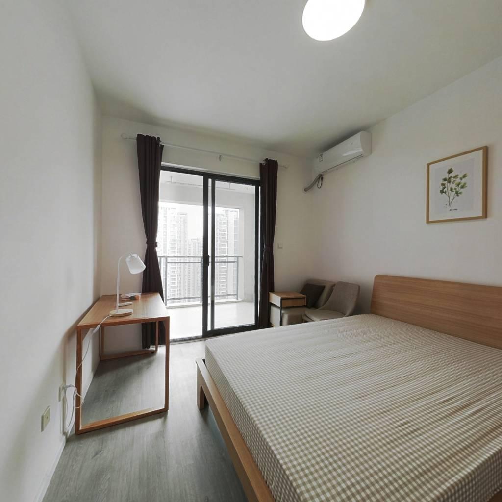 合租·东苑C区 4室2厅 东北卧室图