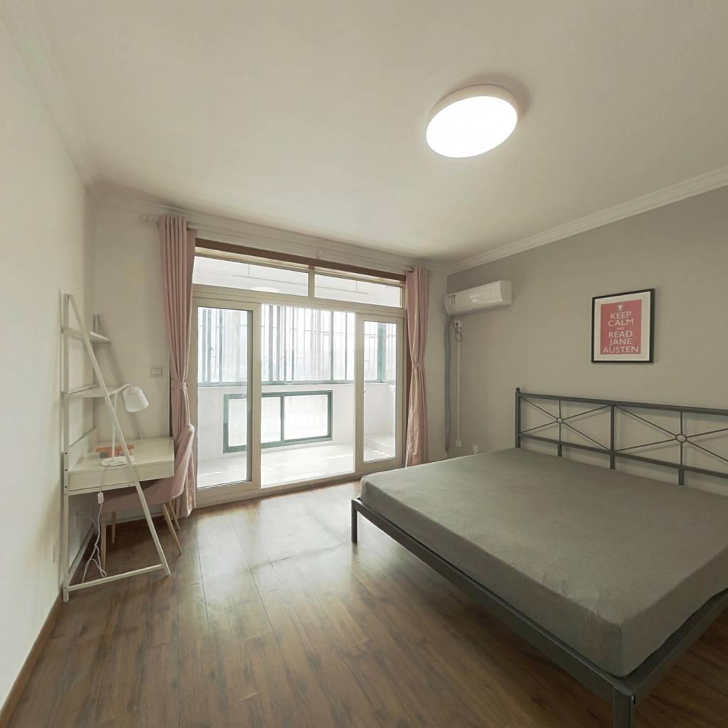 合租·好日子大家园D区 4室1厅 北卧室图