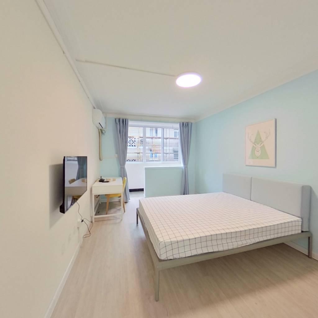 整租·北市场小区 1室1厅 南卧室图