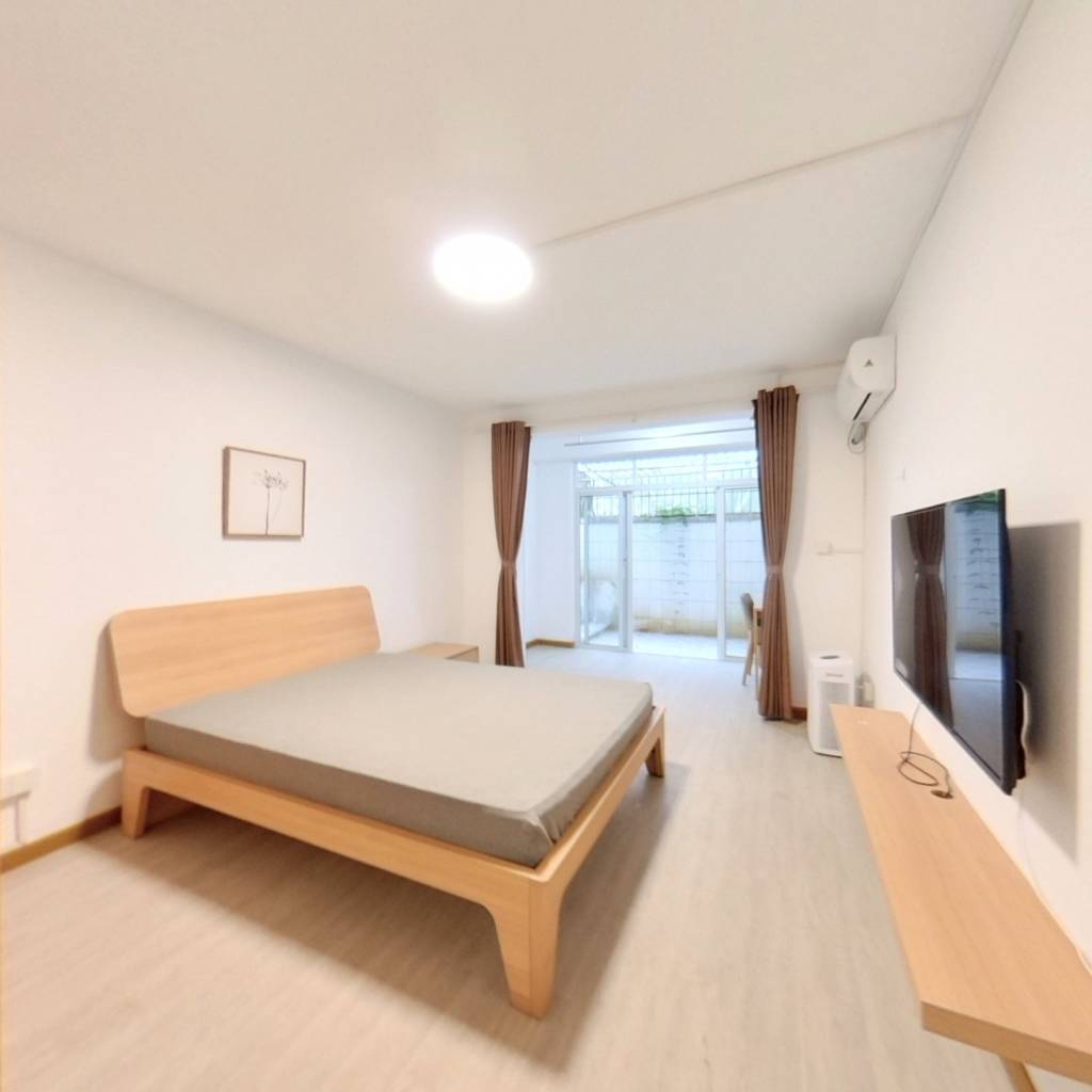 整租·新世纪花苑(二期)(浦东) 2室1厅 南卧室图