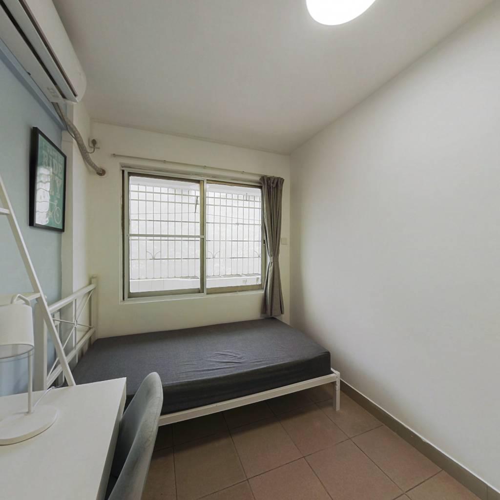 合租·如意花园 4室1厅 西南卧室图