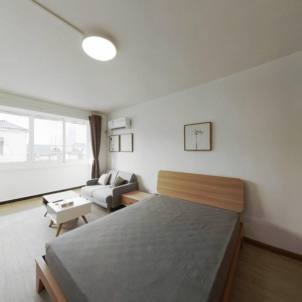 整租·公交新村 2室1厅 南北卧室图