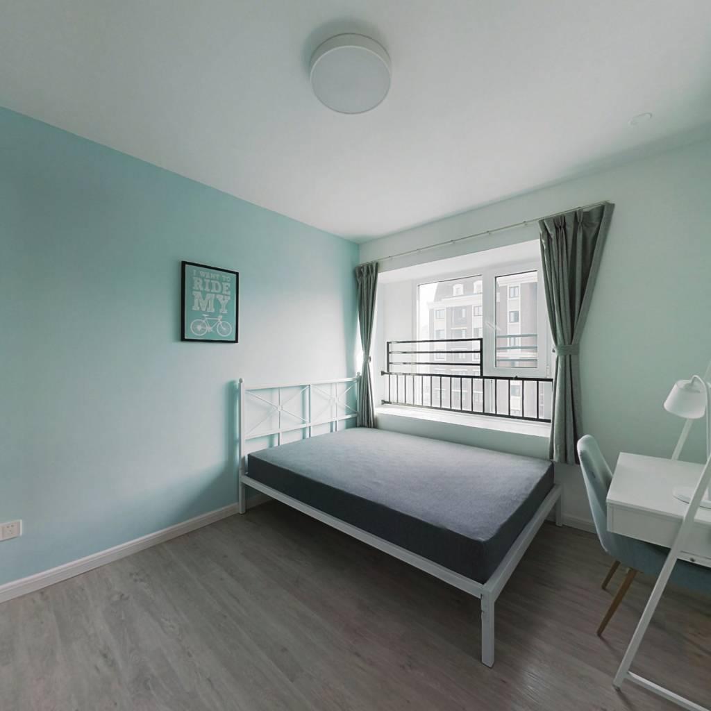 合租·首创悦山郡 3室1厅 南卧室图
