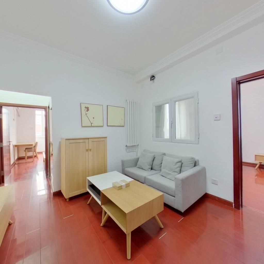 整租·东三环南路 2室1厅 西南卧室图