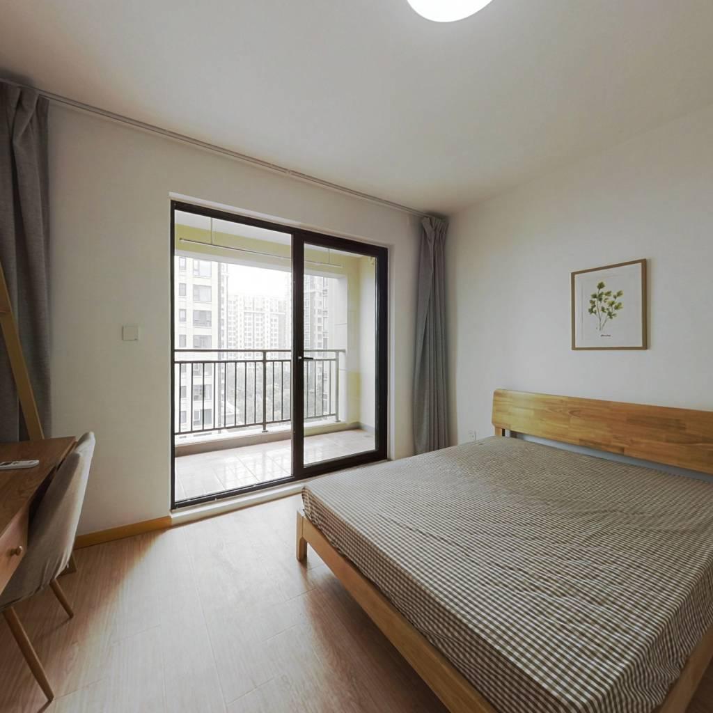 合租·龙湖武林九里 4室1厅 南卧室图