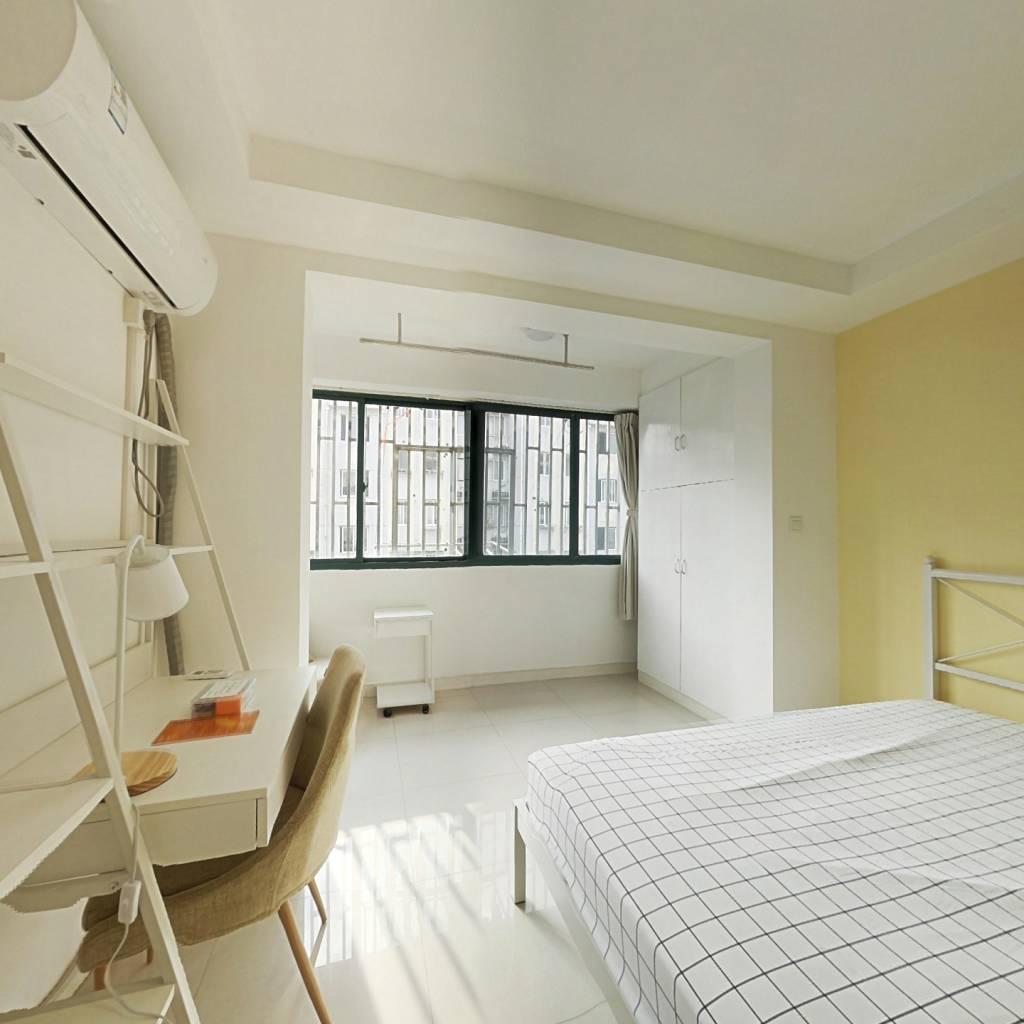 合租·海东公寓 3室1厅 南卧室图