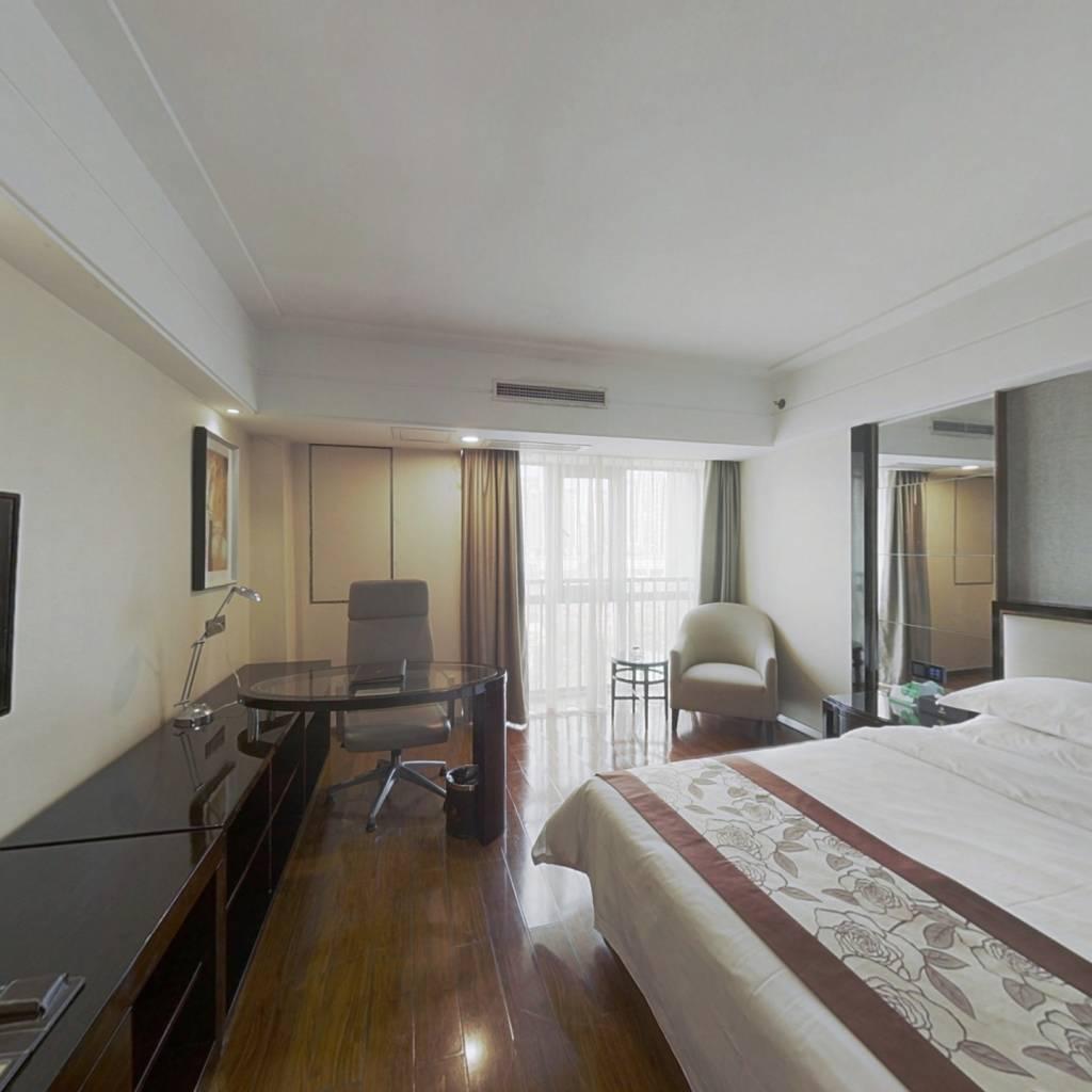 君域豪庭 精装修一室一厅拎包入住看房方便