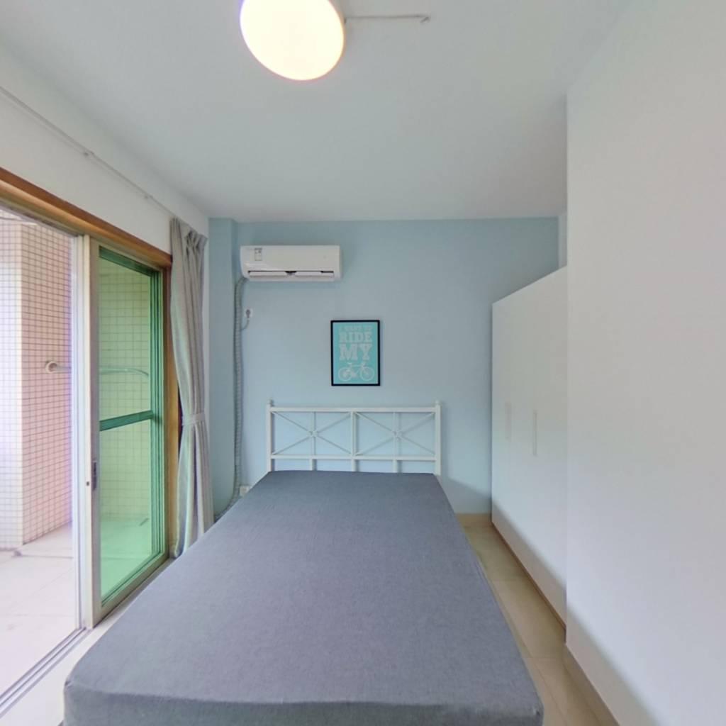 合租·东华花园 4室1厅 南卧室图