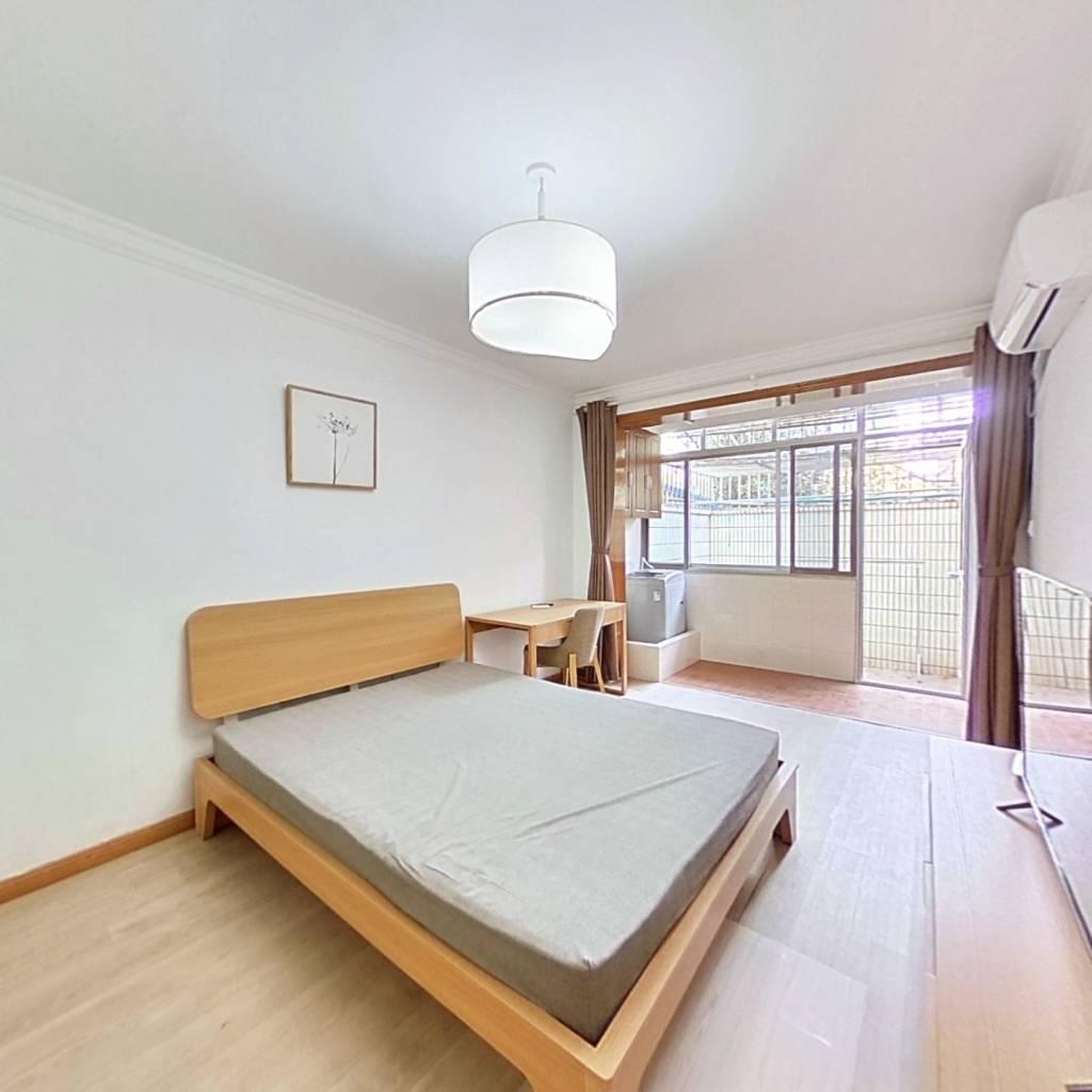 整租·金杨新村三街坊 2室1厅 南卧室图