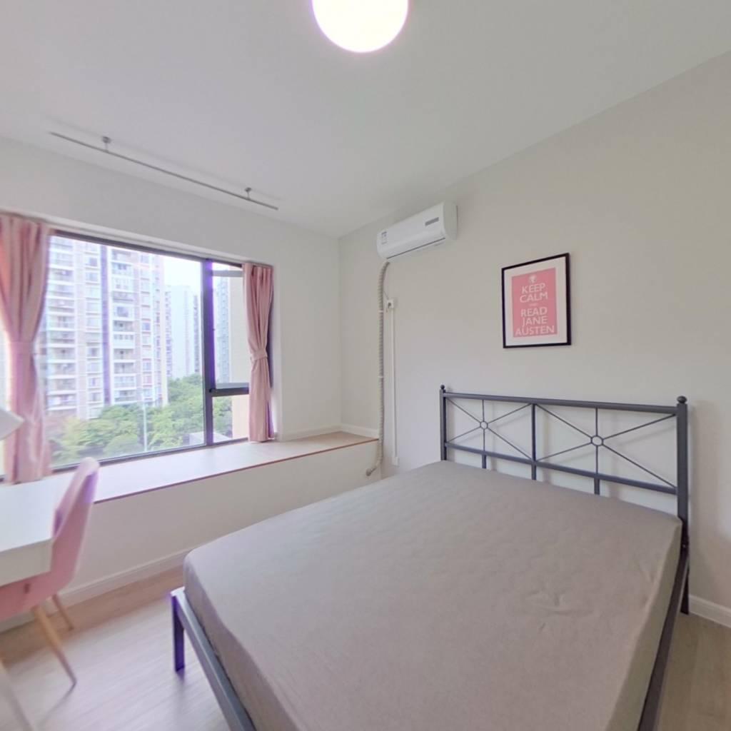 合租·紫御熙庭 3室1厅 北卧室图