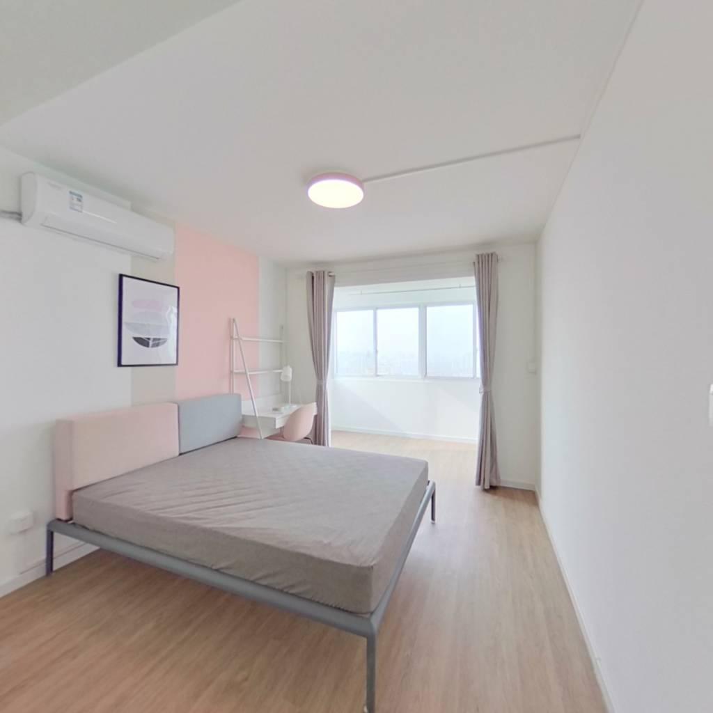 合租·哈佛公寓 3室1厅 西南卧室图