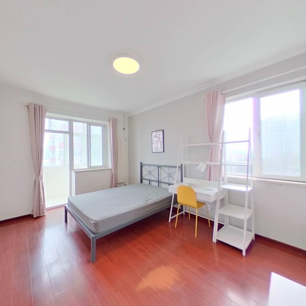 合租·高家园三区 2室1厅 西卧室图